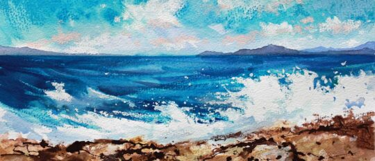 Painting Holiday in Halki 6-13/10/21